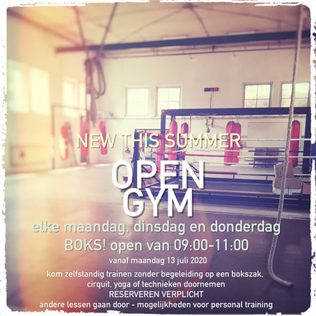 OPEN GYM!