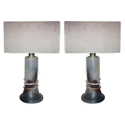Pair of Table-lamps from Ahus