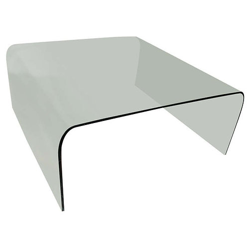 Coffee Table in Bowed Glass
