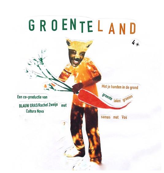 Groenteland, Blauwgras, Rachel Zweije, groente laten groeien
