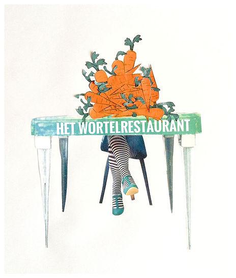 Het Wortelrestaurant, Blauwgras, Rachel Zweije, theater