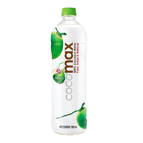 Cocomax 100% Coconut Bottle Water 1L