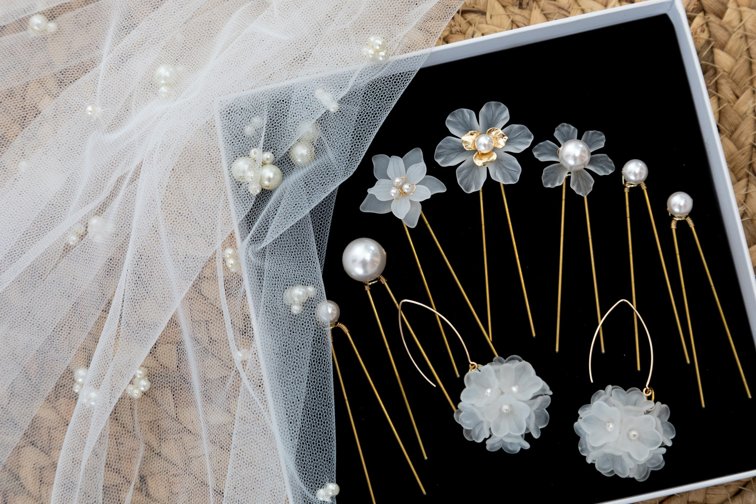 Rare Bridal Studio accessories