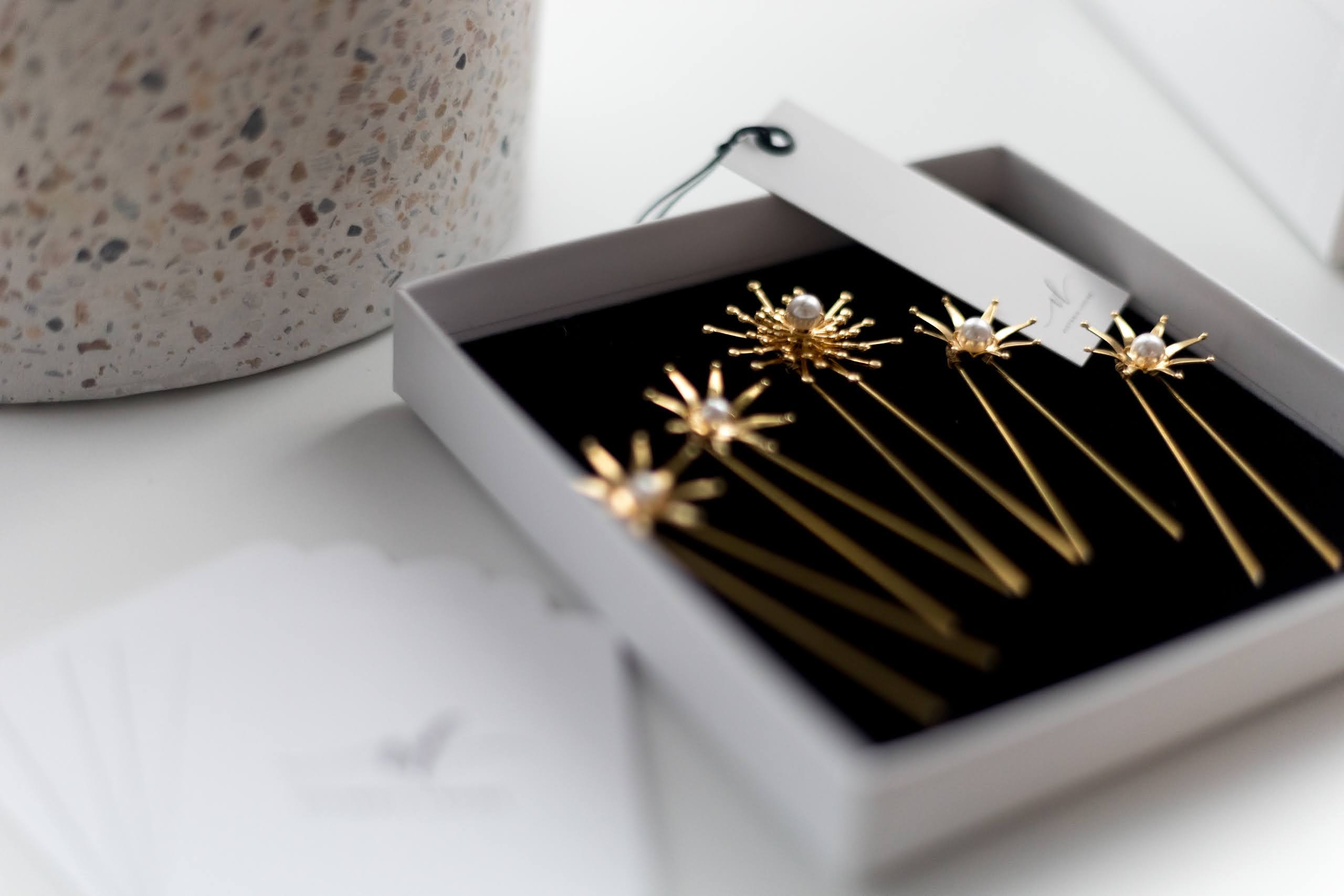 Rare Bridal Studio hair pins