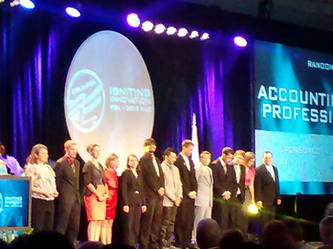 FBLA-PBL Nationals California Awards Ceremony