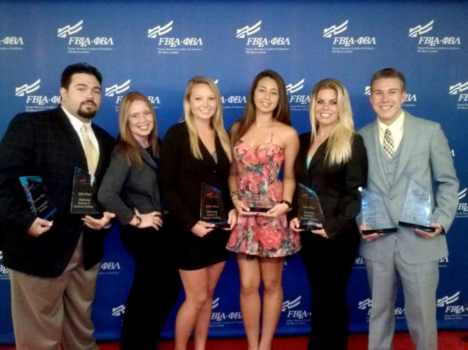 FBLA-PBL National Awards California - Saint Leo University Winners!