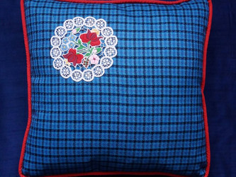 Reuse Old ethnic embroideries and create a lovely cushion!  Check out our new cushion collection!