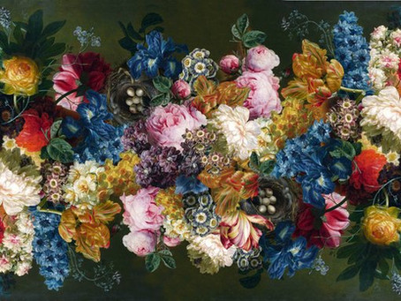 Dutch masters on fabrics - inspired many wallpaper and soft furnishing design companies