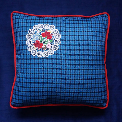 Vintage Embroidery cushion cover
