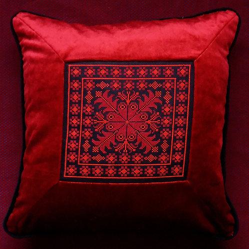 Vintage Cross Stitch cushion cover
