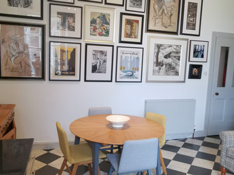 Case study - Georgian kitchen/ dining room get a more modern decor