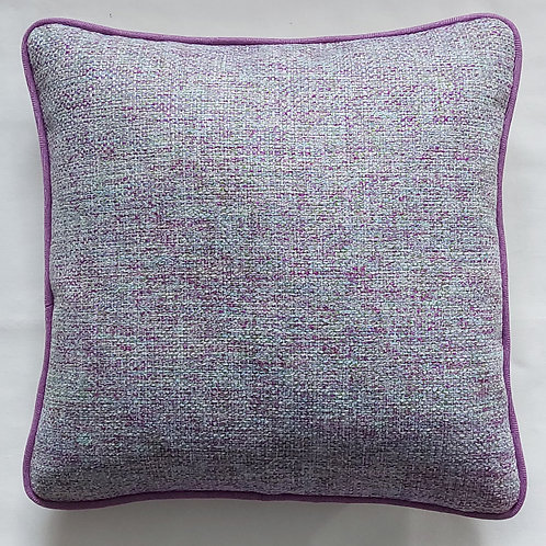 "Textured Square Cushion Cover 43cm × 43cm  17"" × 17"""