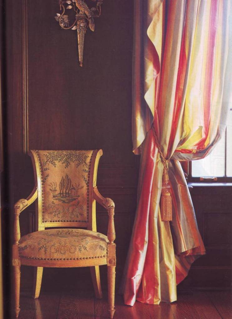Classic curtains, window treatments