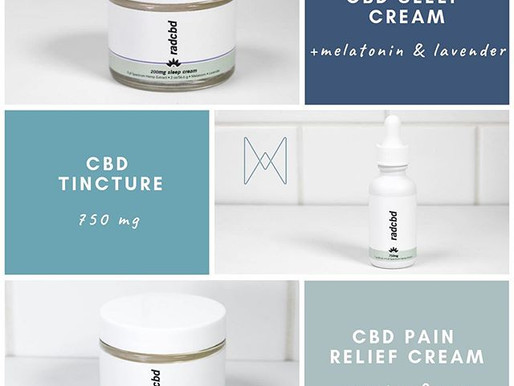 Introducing: RADCBD Products