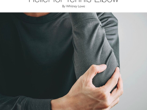 Tennis Elbow: Can Massage Therapy Help?