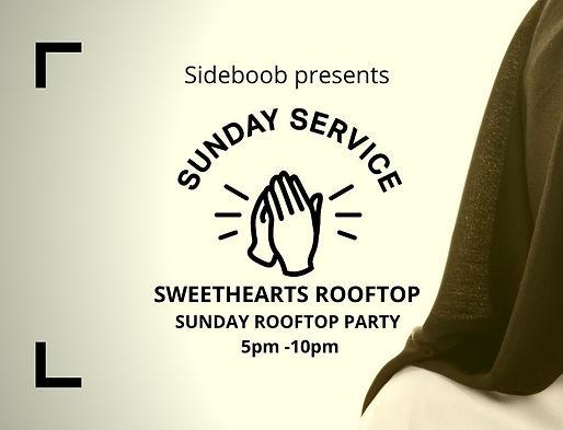 Sideboob presents Sunday service