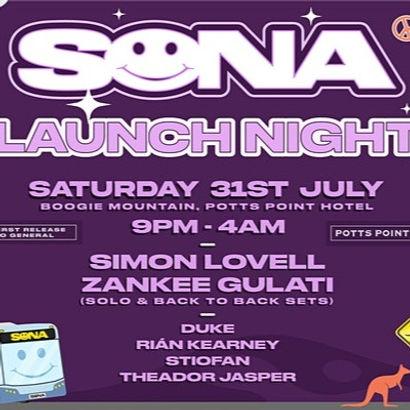 Sona Launch night
