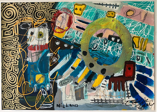 Art is a Mysterious Labyrinth - John Nieland & Eddy Zoëy