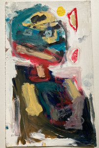 oil on paper 2016 - 50 x 30