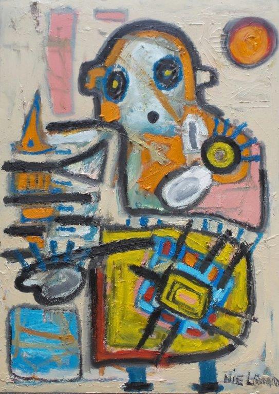 Oil on canvas - 70 x 50