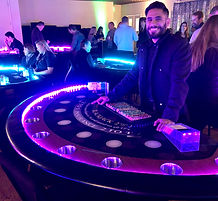 LED BJ Table