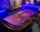 Lighted LED Craps Table