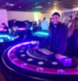 BlackJack Table with Dealer