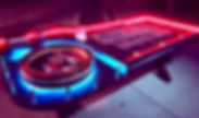Lighted LED Casino Quality Roulette Table Orange County