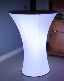Lighted LED Cocktail Tables