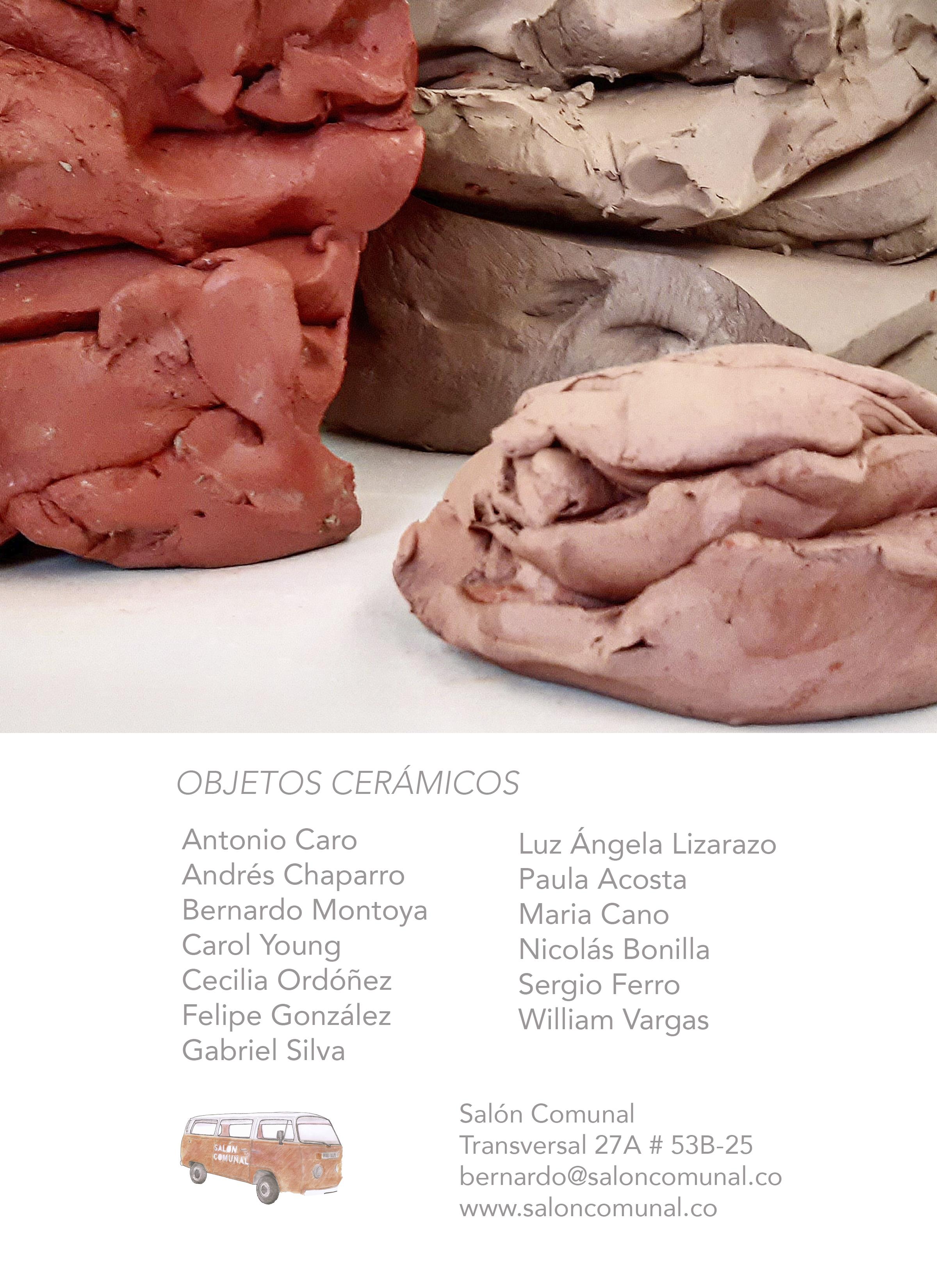 objetos ceramicos 2020