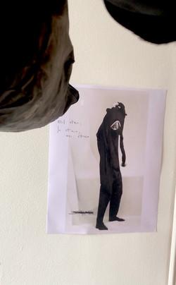 Uno Tu y yo Escultura viva Proyecto Vínc