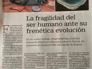 Magmatismos en el diario EL Tiempo