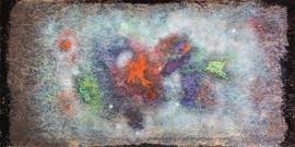 Galaxia M 468544, Icaro dust standing in the sun, 2059, Instituto Arte y Maravillas,