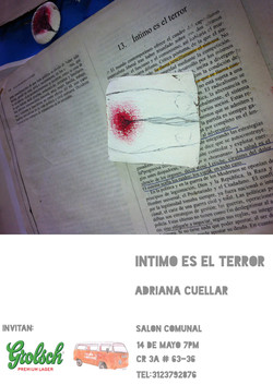 Íntimo es el terror / Salón Comunal