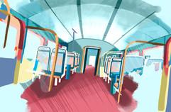 Progress of Train Aisle