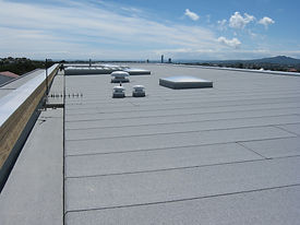 Insulated Flat roof membrane