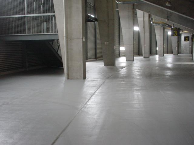 Stadium concourse