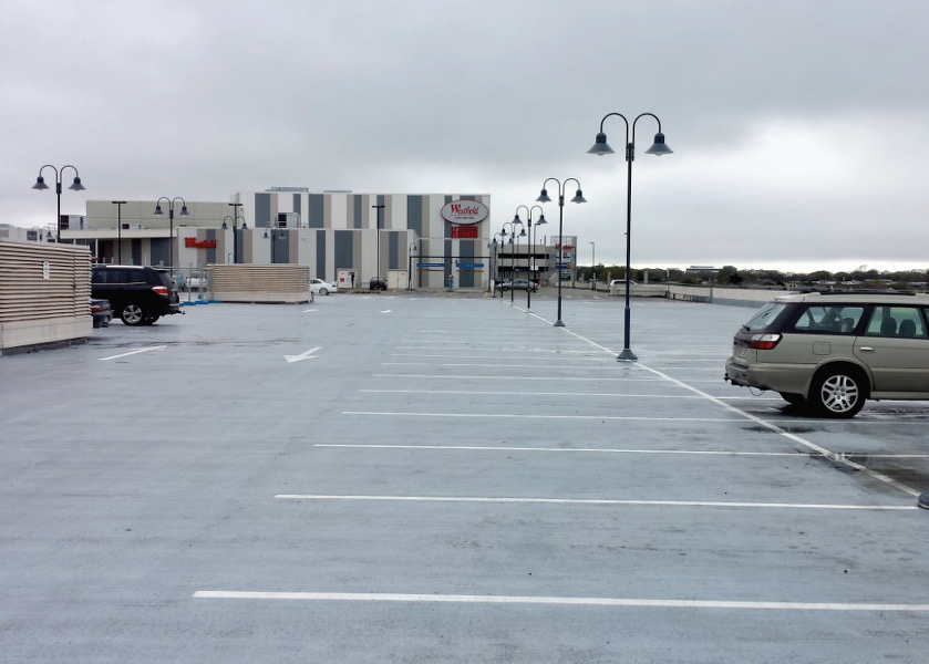 Carpark trafficable waterproofing