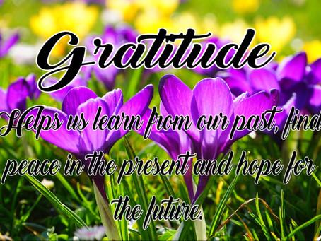 My Journey In Finding Gratitude