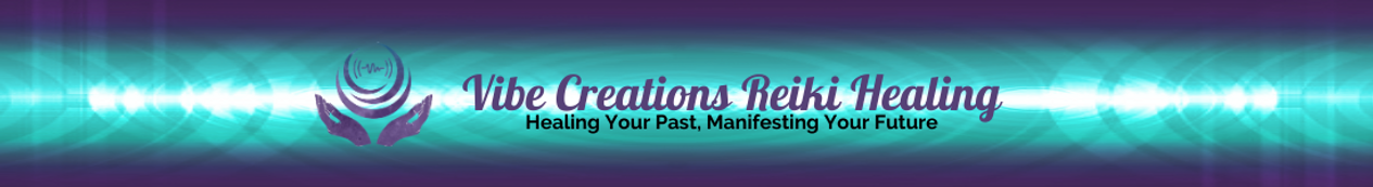 Vibe Creations Reiki Healing website hea