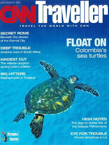 cnn traveller cover