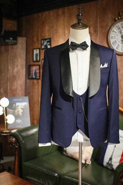 Blue Pearl Tuxedo