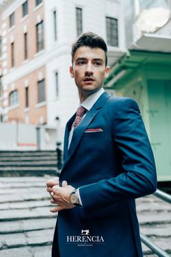 Ocean Blue Suit