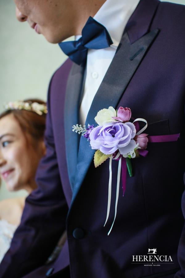 Purple Tuxedo