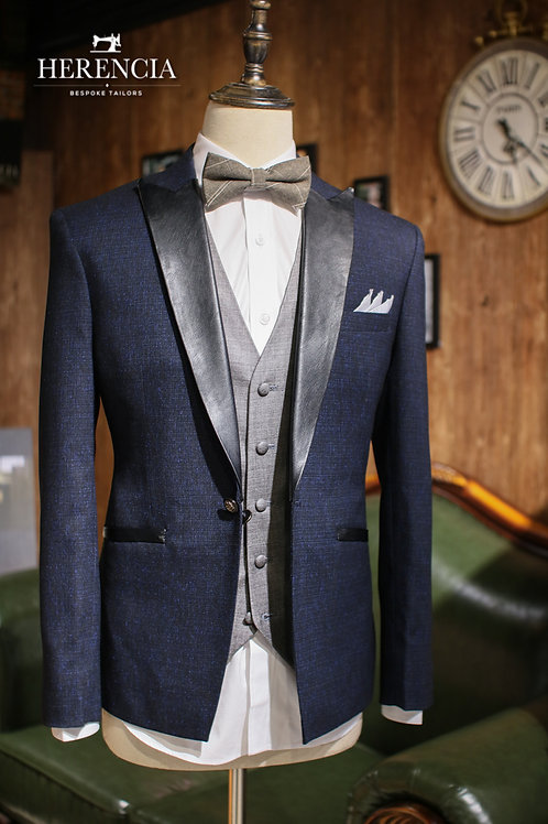The Knight Textured Tuxedo