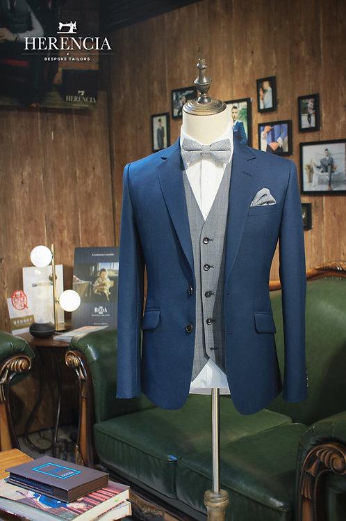 Turquoise Blue Suit