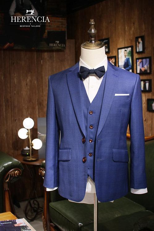 Sky Blue Wedding Suit