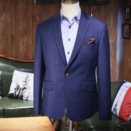 VBC Extra Large Windowpane Suit