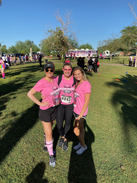 Staff from the 2019 Pink Out 5k