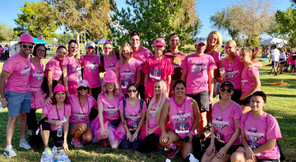The Gawley Companies at the 2019 Pink Out 5k with Dont Be A Chump! Check For A Lump!
